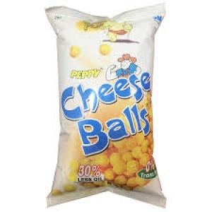 PEPPY CHEESE BALLS 55G