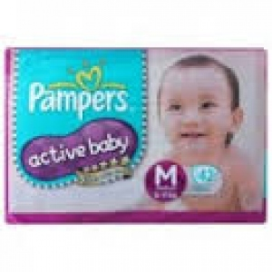 PAMPERS ACTIVE BABY M (6-11KG) 20 DIAPERS