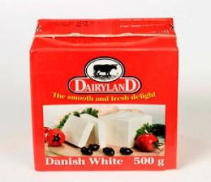 DAIRYLAND DANISH WHITE CHEESE 500G
