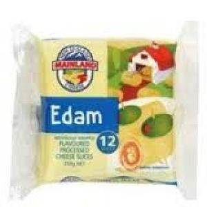 EDAM SLICE CHEESE