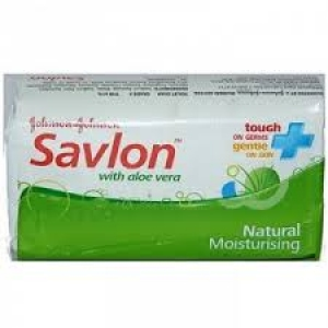 J & J SAVLON SOAP WITH ALOE VERA 65G
