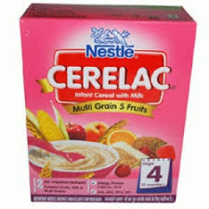 NESTLE CERELAC STAGE 4  MULTI GRAIN 5 FRUITS 300G