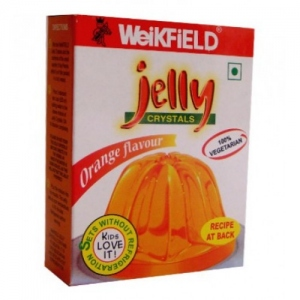 WEIKFIELD JELLY CRYSTALS ORANGE FLAVOUR 90G