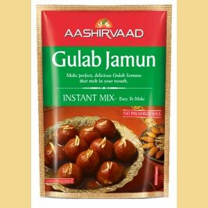 AASHIRVAAD GULAB JAMUN INSTANT MIX  200G