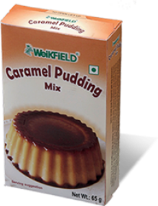 WEIKFIELD CARAMEL PUDDING MIX 65G
