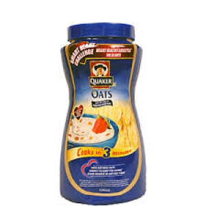 QUAKER OATS NATURAL JAR 1KG