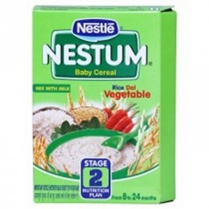 NESTLE NESTUM STAGE 2 RICE DAL VEG 300G
