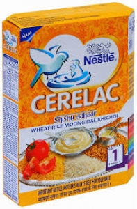 NESTLE CERELAC STAGE 1 WHEAT-RICE MOONG  300G