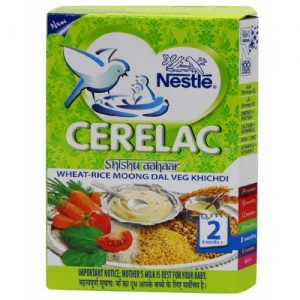 NESTLE CERELAC STAGE 2 WHEAT RICE MOONG DAL 300G
