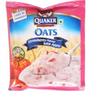 QUAKER OATS STRAWBERRY FLAV WITH APPLE 26G