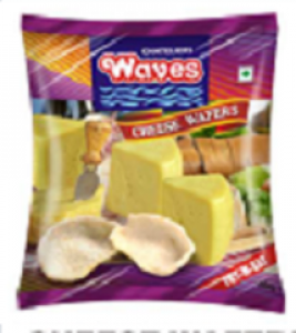 WAVES CHEESE WAFERS 100G
