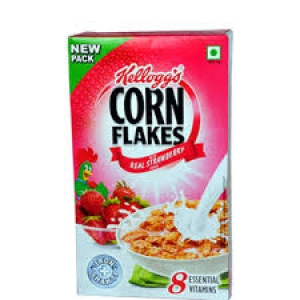 KELLOGG`S CORN FLAKES REAL STRAWBERRY 275G