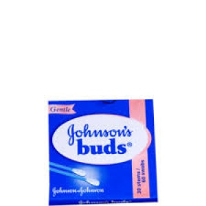 JOHNSON`S EAR BUDS 30 STEMS