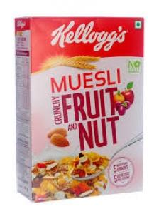 KELLOGG`S CRUNCHY MUESLI FRUIT & NUT 275G