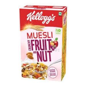 KELLOGG`S MUESLI CRUNCHY FRUIT & NUT 550G