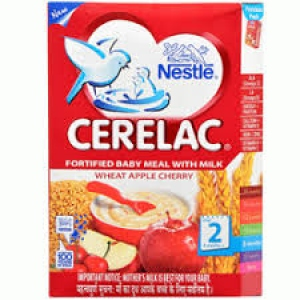 NESTLE CERELAC STAGE 2  WHEAT APPLE CHERRY 300G