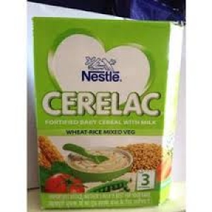 NESTLE CERELAC STAGE 3 WHEAT RICE MIX VEG 300G