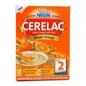 NESTLE CERELAC STAGE 2 WHEAT ORANGE 300G