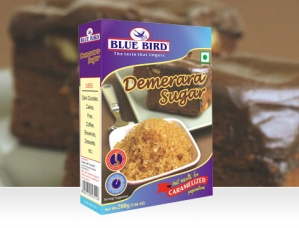 BLUE BIRD DEMERARA SUGAR  200G