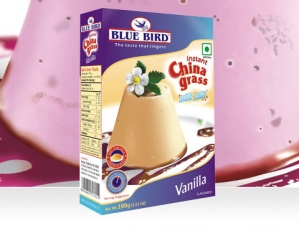 BLUE BIRD INSTANT CHINA GRASS VANILLA 100G