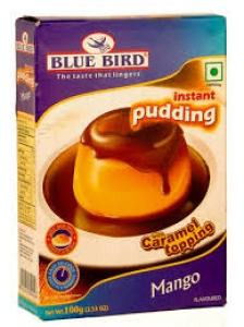 BLUE BIRD PUDDING INSTANT MANGO 100G