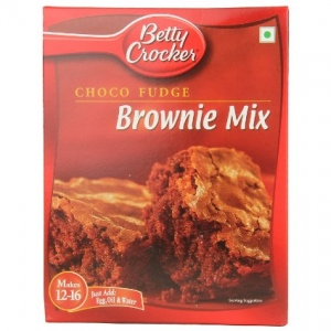BETTY CROCKER CHOCO FUDGE BROWNIE MIX 395G