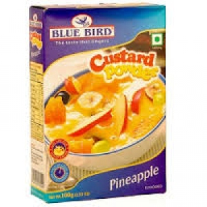 BLUE BIRD CUSTARD POWDER PINEAPPLE 100G