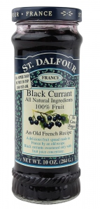 ST DALFOUR BLACK CURRANT SPREAD 284G
