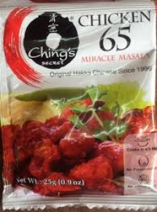 CHING`S CHICKEN 65 MIRACLE MASALA 25G
