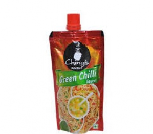 CHING`S SECRET GREEN CHILLI SAUCE POUCH 90G