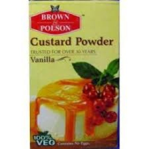 BROWN & POLSON CUSTARD POWDER VANILLA 100G