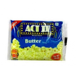 ACT II MICROWAVE POPCORN BUTTER FLAV 33G