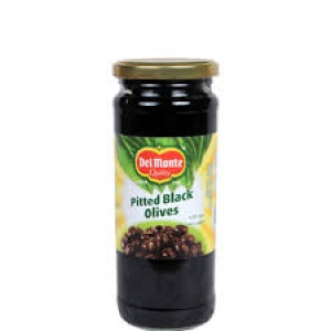 DEL MONTE PITTED BLACK OLIVES