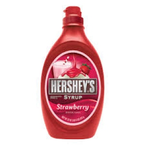 HERSHEY`S SYRUP STRAWBERRY 623G