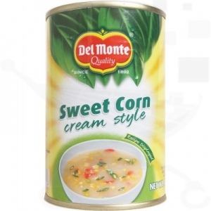 DEL MONTE SWEET CORN CREAM STYLE 425G