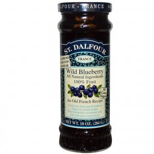 ST DALFOUR WILD BLUEBERRY PRESERVE 284G
