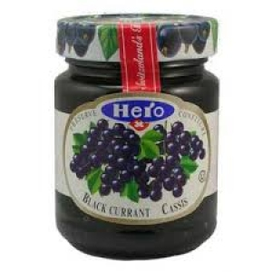 HERO BLACK CURRANT PRESERVE 340G
