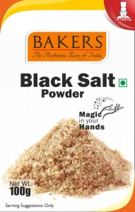 BAKERS BLACK SALT POWDER 100G