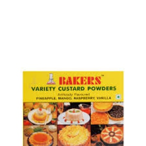 BAKERS VARIETY CUSTARD POWDER 100G