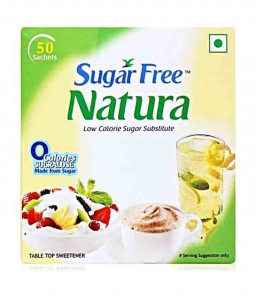 SF NATURA LOW CALORIE SUGAR SUBSTITUTE 50 SACHET