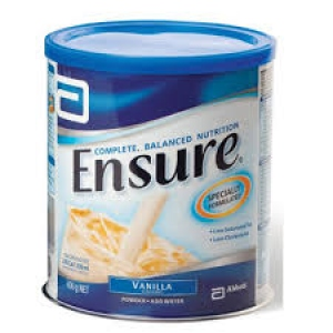 ENSURE VANILLA FLAV JAR 400G