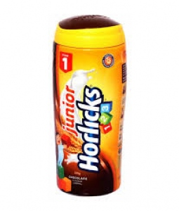 HORLICKS JUNIOR 123 CHOCOLATE FLAV 500G BOTTLE