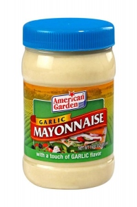 AMERICAN GARDEN U.S MAYONNAISE GARLIC 473ML