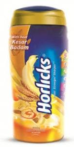 HORLICKS KESAR BADAM JAR 400G
