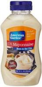 AMERICAN GARDEN U.S. MAYONNAISE SQUEEZY 355ML