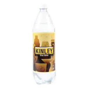 COKE KINLEY CLUB SODA 750ML