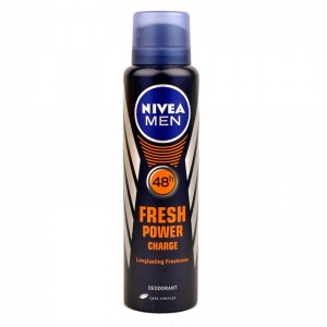 NIVEA MEN FRESH POWER CHARGE DEO 150ML