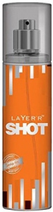 LAYER`R SHOT SMOKIN HOT BODY SPRAY 135ML
