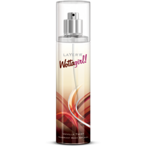 LAYER`R WATTAGIRL VANILLA TWIST BODY SPLASH 135ML