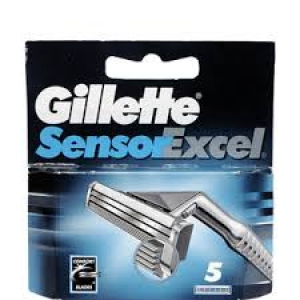 GILLETTE SENSOR EXCEL CARTRIDGES 5